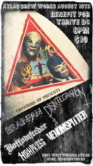 Disintegration Flyer