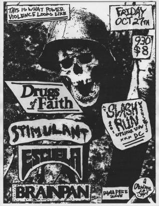Drugs of Faith Flyer