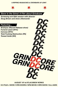 Slave to the Grind Flyer